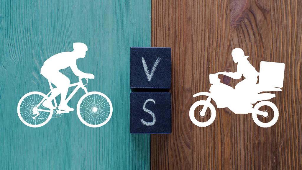 Uber Eats(ウーバーイーツ)は自転車とバイクどっちが稼げる?