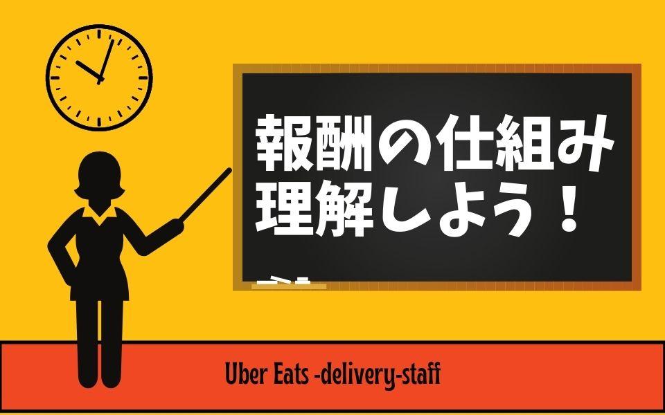Uber Eats(ウーバーイーツ)の給料・報酬の仕組みを理解しよう